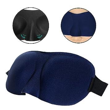 Máscara Ojos Recorte Antifaz para dormir para un profundo Relajación con correa ajustable excelente para I