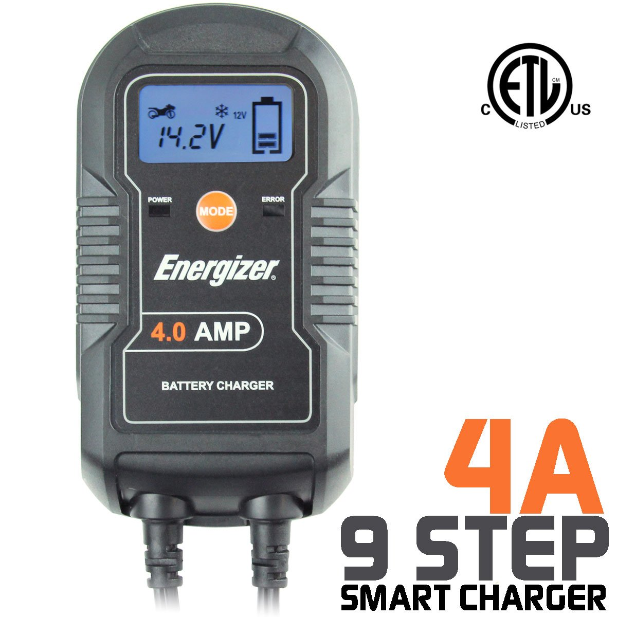 ENC4A Energizer Battery Charger/Maintainer