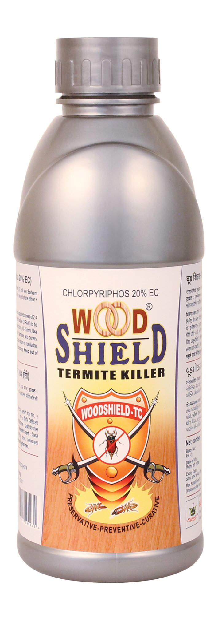 Sujanil Chemo Industries Woodshield Termite Killer (1 Litre) product image