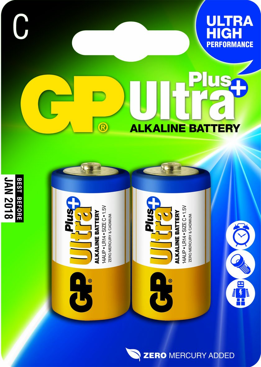 Gp Batteries Lr14 15 V Ultra Plus Alkaline Baby C Battery Charger Circuit Electronics
