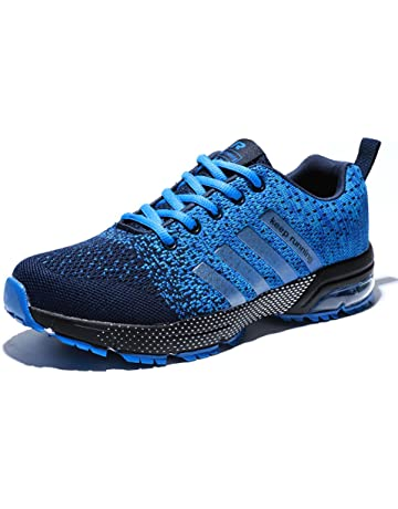 Senbore Zapatillas de Deporte Respirable Para Correr Deportes Zapatos  Running Hombre 9276a2e96e2