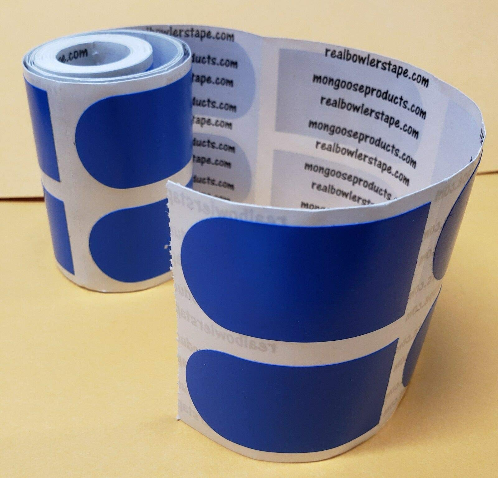 Real Bowler's Tape, Roll of 100, 1 inch Blue/Smooth by Generic