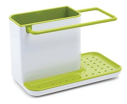 نتيجة بحث الصور عن hstore 3 in 1 stand for kitchen sink for dishwasher liquid, brush, sponge etc ( green)
