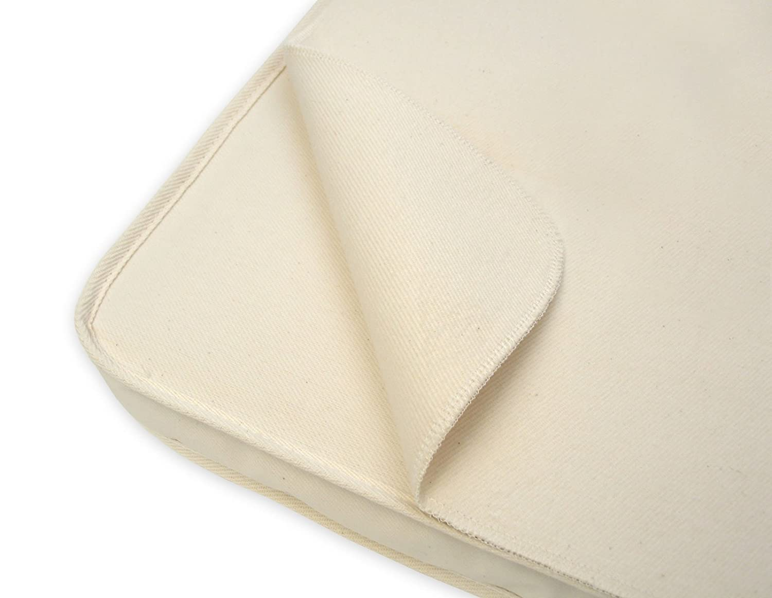 Naturepedic Waterproof Flat Bassinet Pad, 15x30 PB62W GN-O9A4-HPNC