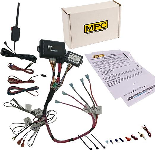 Amazon.com: MPC 2 Way LCD Remote Start Kit with Keyless Entry for 2003-2006 Chevrolet  Silverado 1500 - Prewired - Firmware Preloaded: AutomotiveAmazon.com