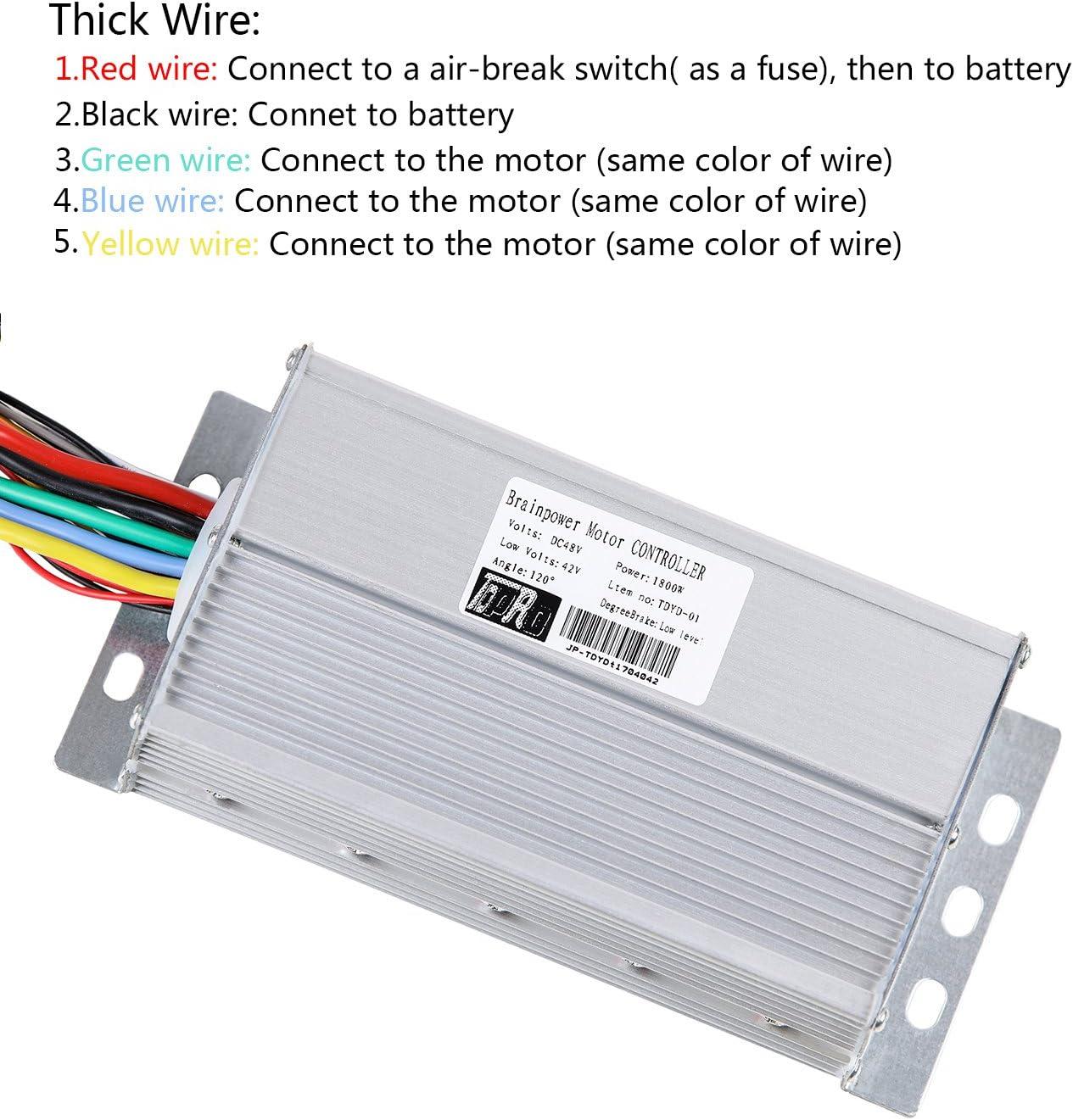 Amazon.com: TDPRO - Controlador de motor de velocidad sin ...