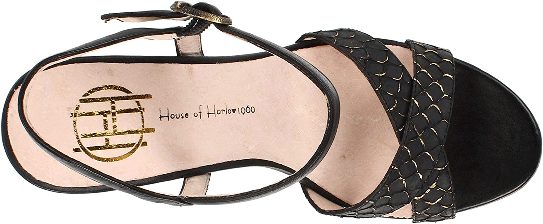 House House House of Harlow Pat, Damen Sandalen Schwarz (schwarz/schwarz) 65ab59