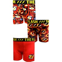 BioWorld Merchandising Boys' DC Comics The Flash 3 Pack Boxer Briefs