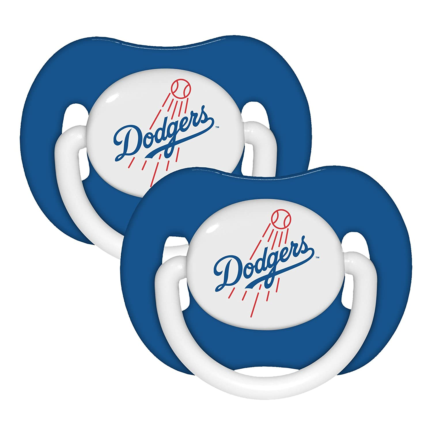 Amazon.com: Los Angeles Dodgers 2-Pack infantil Chupete Set ...