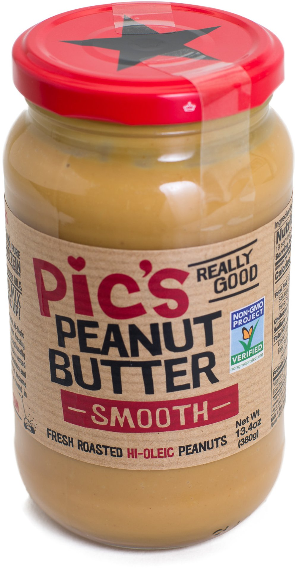 Pic's Really Good, Smooth Peanut Butter, 13.4 Ounce