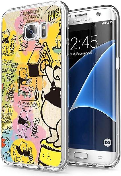 Amazoncom Silicone Clear Case For Samsung Galaxy S7 Edge