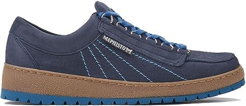 TALLA 45 EU. Mephisto Mens Rainbow Nubuck Shoes