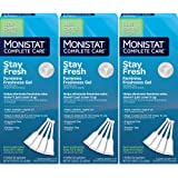 Monistat Care Stay Fresh Gel ,4 Count Prefilled Applicators, Balance pH ,Pack of 3
