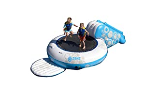Rave O-Zone Plus Water Bouncer (White/Blue)