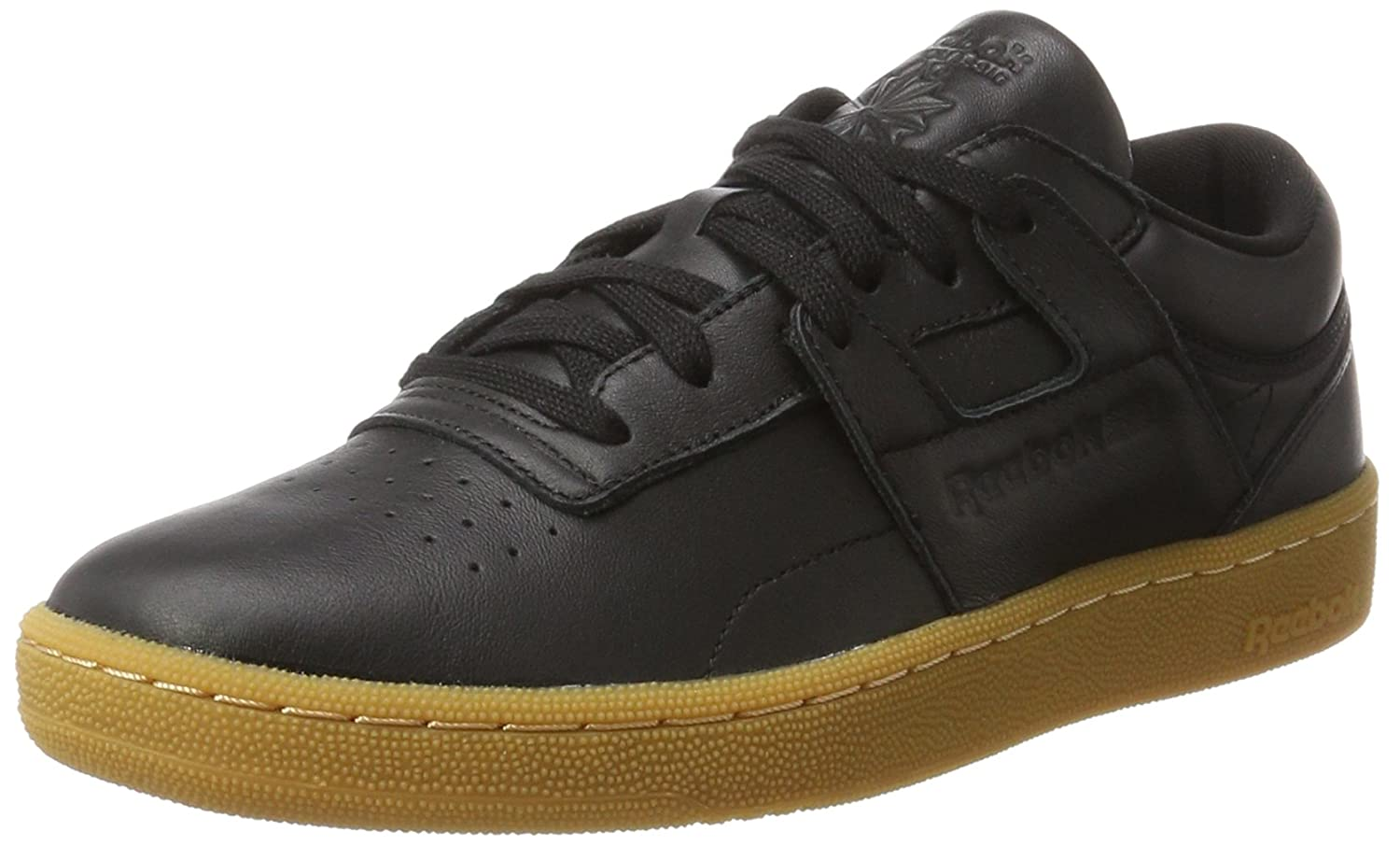 79ffcac9e033 Amazon.com  Reebok Club Workout Mens Sneakers Black  Clothing