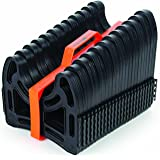 Camco 20ft Sidewinder RV Sewer Hose Support, Made From Sturdy Lightweight Plastic, Won't Creep Closed, Holds Hoses In Place - No Need For Straps