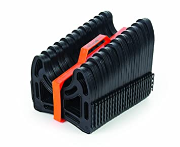 Camco 20ft Sidewinder RV Sewer Hose Support Made From Sturdy Lightweight Plastic Won