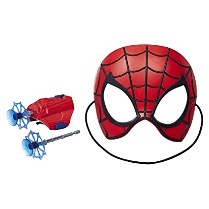 Amazon Com Spider Man Into The Spider Verse Mission Gear Toys Games
