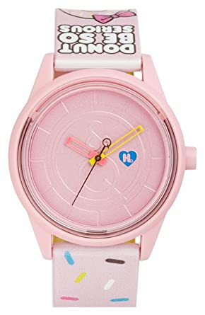 "Harajuku Lovers HL2314 ""Donut Be So Serious"" Solar Watch 40mm"