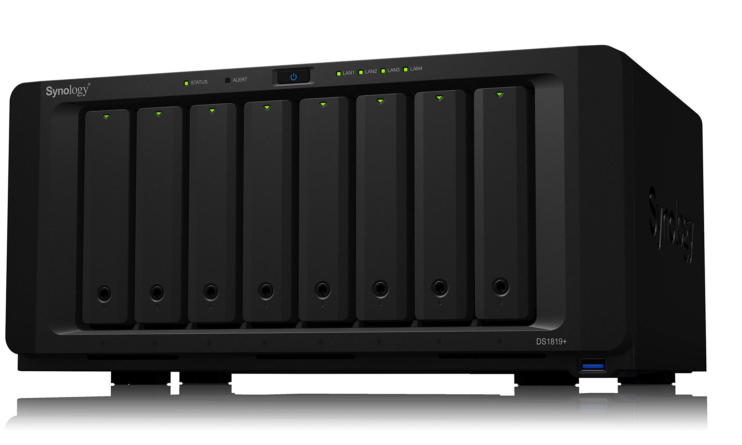 Synology 8 Bay NAS Diskstation (Diskless) (DS1819+) by Synology
