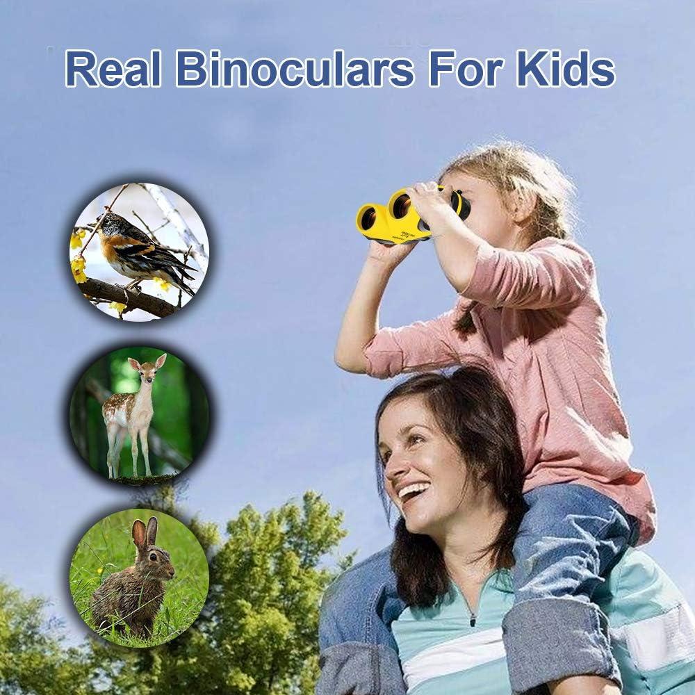 Geschenk /& Spielzeug SOKY Wasserdichtes Fernglas f/ür Kinder