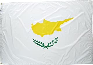 product image for Annin Flagmakers Model 191978 Cyprus Flag Nylon SolarGuard NYL-Glo, 4x6 ft, 100% Made in USA to Official United Nations Design Specifications