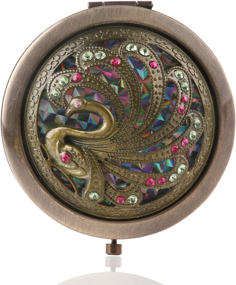 SUPVOX Miroir circulaire compact de poche en forme de mini