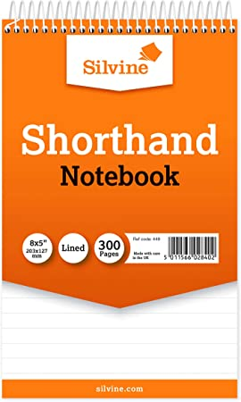 3 Pack Of Shorthand Reporters Notebooks 80 Sheets Per Book Lined School Office