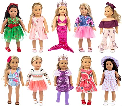 10pcs Handmade Fashion Doll Crown Hairband For 18/'/' AG American Doll Dolls ACCS