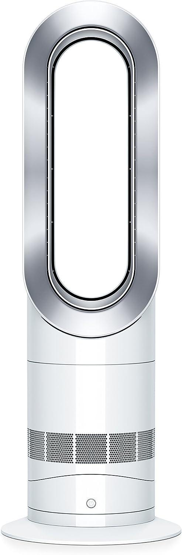 Dyson Hot + Cool Jet Focus AM09 Fan Heater White/Silver (renewed)