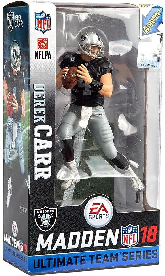 Amazon.com  Mcfarlane Madden 18 Ultimate Team (Series 2) Derek Carr -  Oakland Raiders  Toys   Games 1f76885a4
