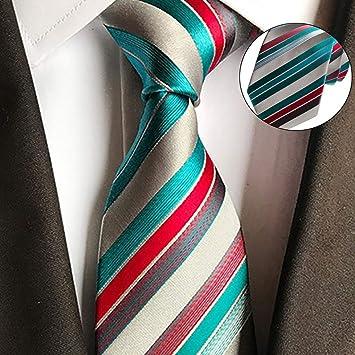 TriLance Corbata de Navidad para Hombre, Corbata Tejida para ...