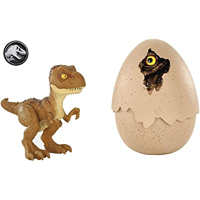 Jurassic World Hatch 'n Play Dinos Tyrannosaurus Rex: Toys & Games