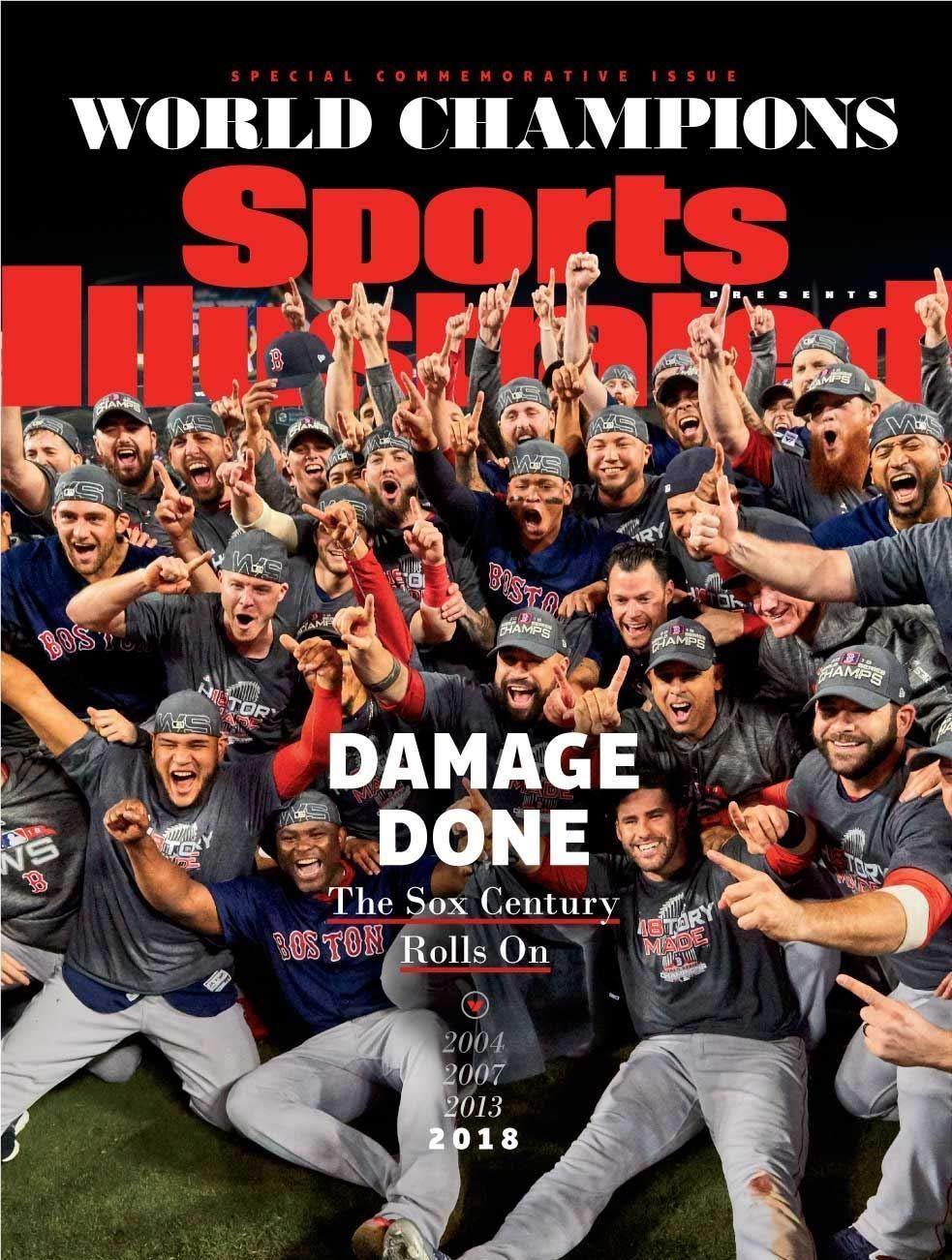 Boston Red Sox 2018 Commemorative Sports Illustrated