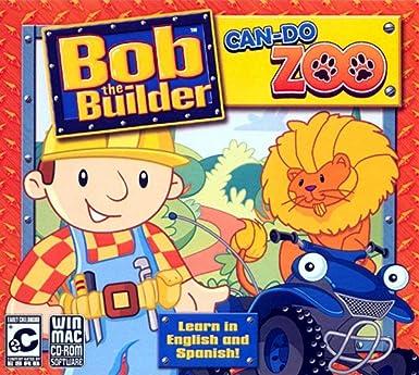 Amazon Com Bob The Builder Can Do Zoo Video Games