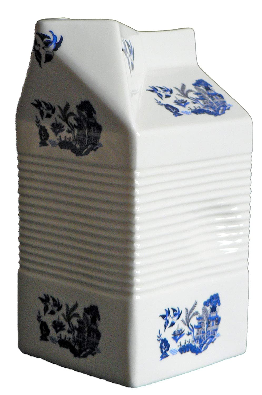 crackinchina - Jarra con Forma de Carton de Leche, Cerámica ...