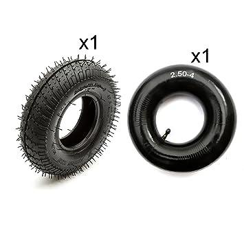 2,80 - 4 neumático + Innertube 2,50 - 4 Mini Midi Moto ...