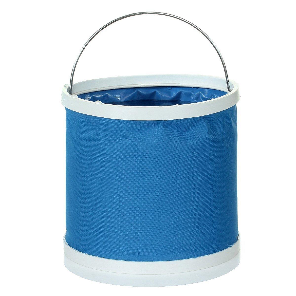 morebeauty 9L port/átil plegable Cubo para exterior Viaje Camping Pesca de barcos Car Washing Bucket Barril