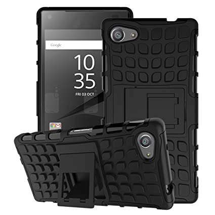 Amazon.com: MoKo Dual Layer carcasa para Sony Z5 Compact ...