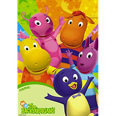 Backyardigans Party Loot Bags 8 Pack: Toys & Games