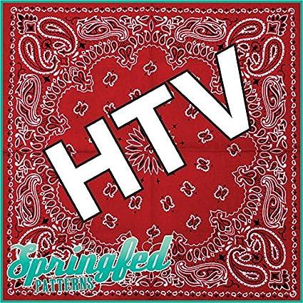 Amazon RED BANDANA PATTERN HTV Heat Transfer Vinyl 40x40 Fascinating Bandana Pattern