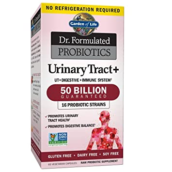 Garden of Life - Dr  Formulated Probiotics Urinary Tract+ - Acidophilus  Probiotic Supports Urinary Tract