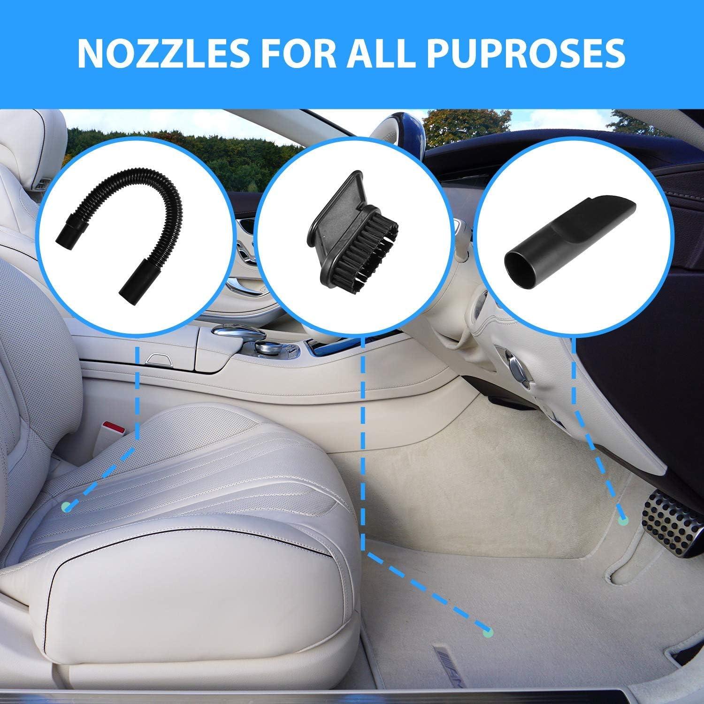 LED Light Car Vacuum Cleaner