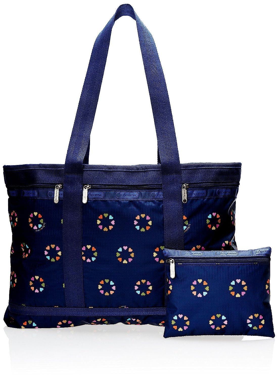 LeSportsac Travel Tote Handbag, Happy Hearts