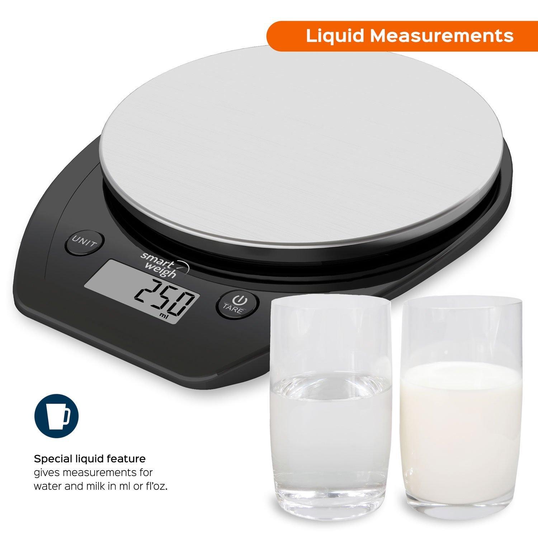 Báscula Electrónica Multifuncional para Cocina y Alimentos por solo 10,99€