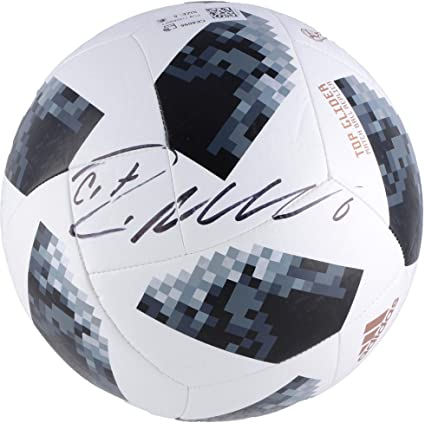 3a95a9ef0c3 Cristiano Ronaldo Portugal Autographed 2018 FIFA World Cup Telstar Soccer  Ball - Fanatics Authentic Certified at Amazon s Sports Collectibles Store