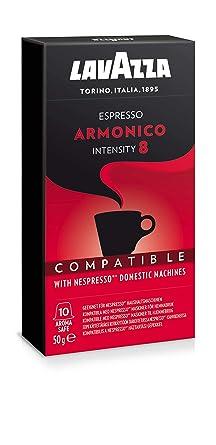 Lavazza Armonico Espresso, Cápsulas de Café, Compatible con Las ...