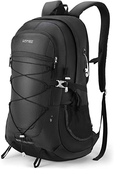 NA Light Weight Water-Resistant Daypack,Hiking Outdoor Camping Backpacks for Men and Women Large Capacity