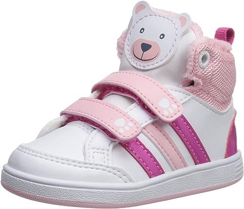 adidas NEO Hoops Animal Mid-Height INF Basketball Shoe (Infant ...