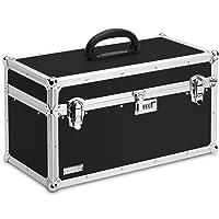 Vaultz Caja de bloqueo para herramientas, 27.30 cm x 25.40 cm x 50.16 cm, Negro